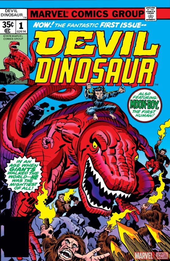 Marvel Comics Devil Dinosaur (1978)