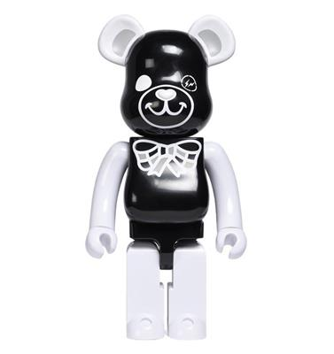 Be@rbrick Misc Freemasonry x Fragment Design (Black) 1000%