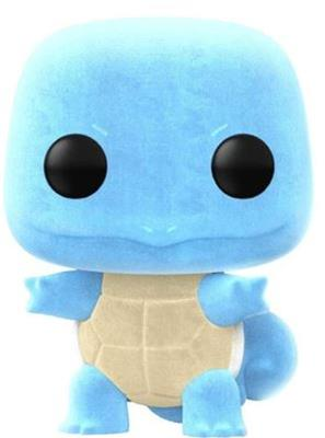 Funko Pop! Games Squirtle (Flocked)