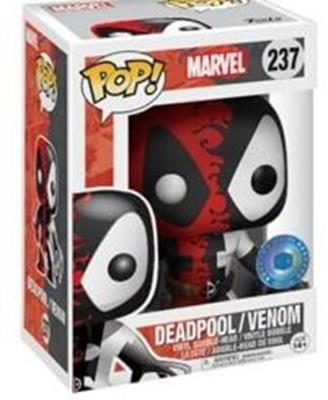 Funko Pop! Marvel Deadpool/Venom (Metallic) Stock