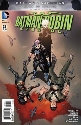 DC Comics Batman & Robin Eternal (2015 - 2016) Batman & Robin Eternal (2015) #25 Stock