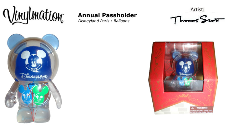 Vinylmation Open And Misc Exclusives Annual Passholder - Balloons