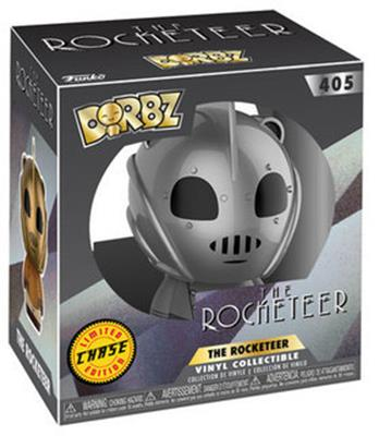Dorbz Movies The Rocketeer (Silver) - CHASE Stock