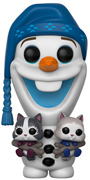 Funko Pop! Disney Olaf (w/ Kittens)