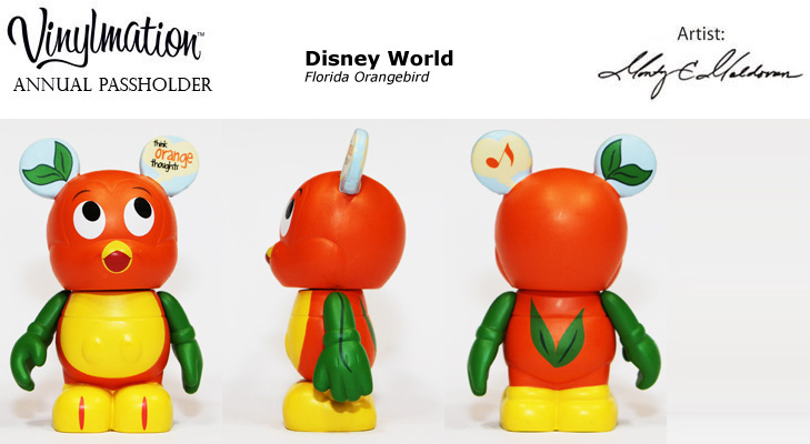 Vinylmation Open And Misc Exclusives Florida Orangebird