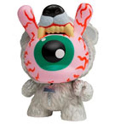 Kid Robot Special Edition Dunny Bad News Cub: Polar