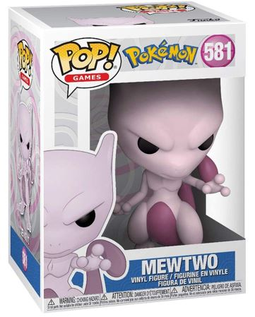 Funko Pop! Games Mewtwo Stock