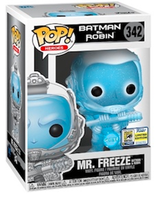 Funko Pop! Heroes Mr. Freeze Batman & Robin (Glitter) Stock