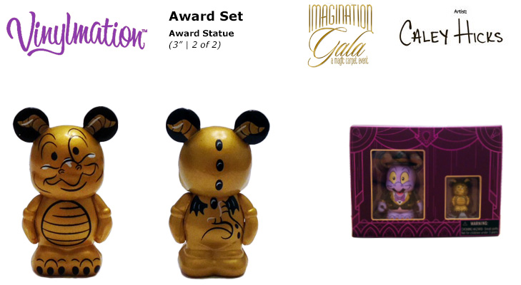 Vinylmation Open And Misc Imagination Gala Award Statue