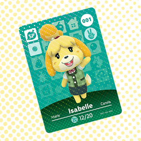 Amiibo Cards Animal Crossing Series 1