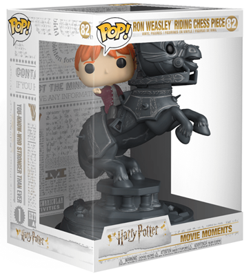 Funko Pop! Harry Potter Ron Weasley Riding Chess Piece Stock