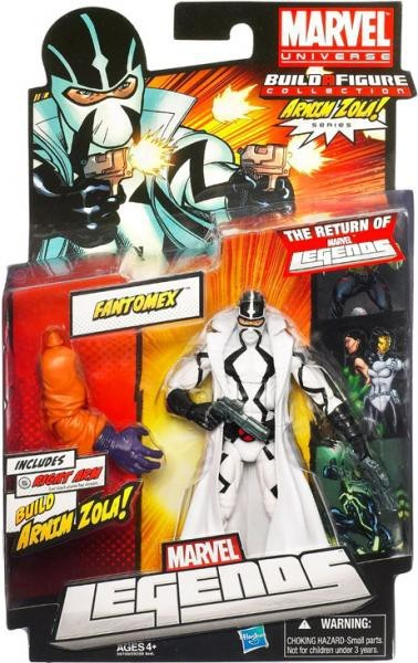 Marvel Legends Arnim Zola Series Fantomex