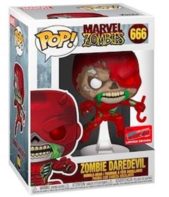 Funko Pop! Marvel Zombie Daredevil Stock