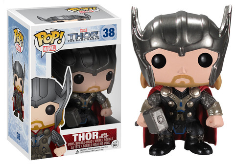 Funko Pop! Marvel Thor (The Dark World) - w/ Helmet Stock