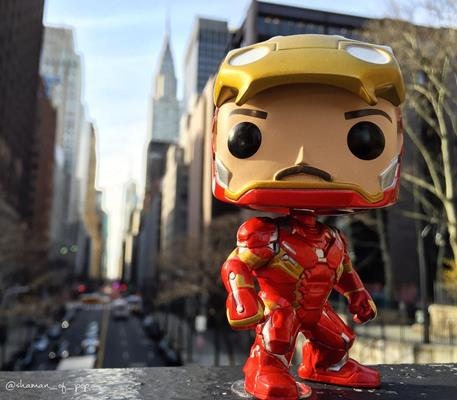 Funko Pop! Marvel Iron Man (Civil War) (Unmasked) shaman_of_pop on instagram.com