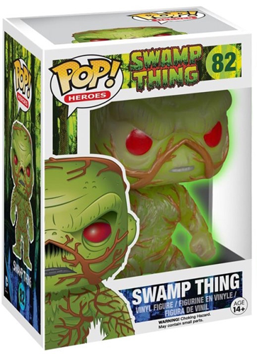 Funko Pop! Heroes Swamp Thing (Glow) Stock