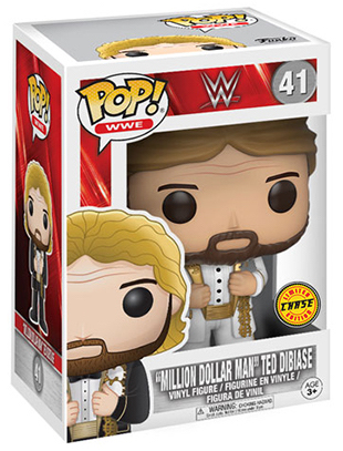"Funko Pop! Wrestling ""Million Dollar Man"" Ted DiBiase (White Suit) - CHASE Stock"