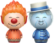 Dorbz Movies Heat Miser & Snow Miser (2-Pack)