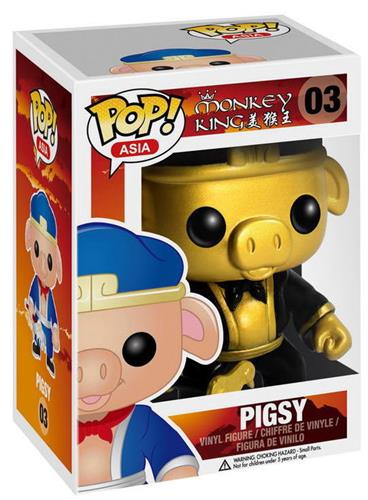 Funko Pop! Asia Pigsy (Gold) Stock
