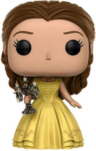 Funko Pop! Disney Belle (Live Action) - w/ Candlestick