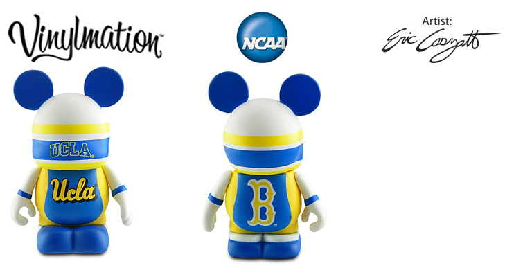 Vinylmation Open And Misc College UCLA Bruins