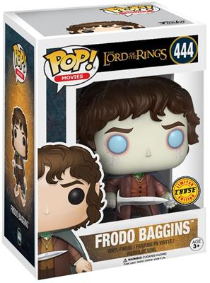 Funko Pop! Movies Frodo Baggins (Glow) - CHASE Stock