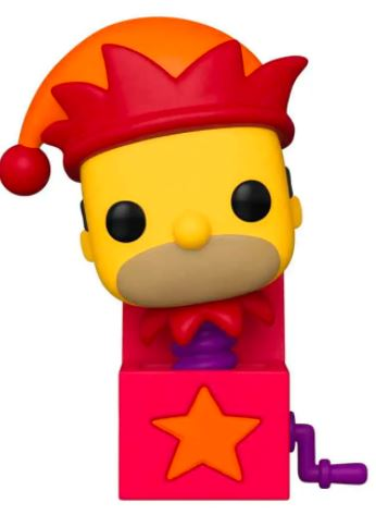 Funko Pop! Television Jack in the Box Homer (Glows in the Dark)