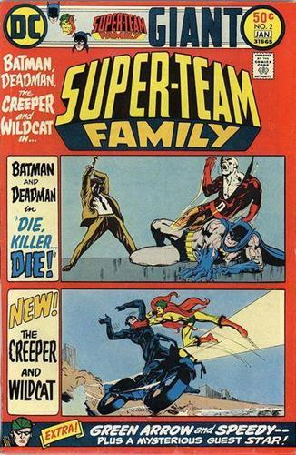 DC Comics Super-Team Family (1975 - 1978) Super-Team Family (1975) #2