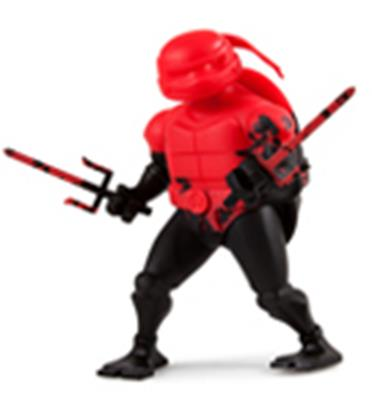 Kid Robot TMNT x Kidrobot Raphael (Black) Icon Thumb