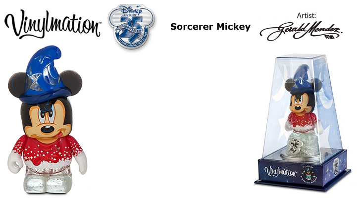 Vinylmation Open And Misc 25th Anniversary Sorcerer Mickey