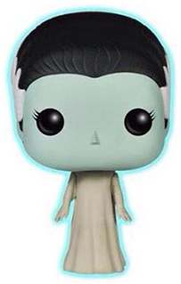 Funko Pop! Movies The Bride of Frankenstein (Glow)