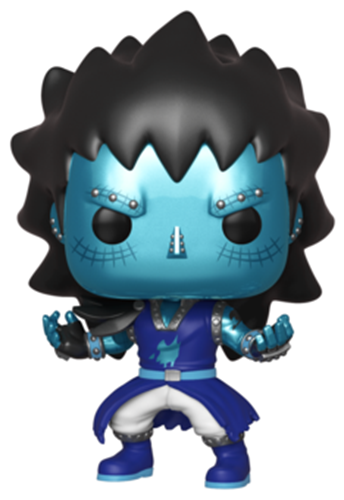 Funko Pop! Animation Gajeel with Dragon's Scale Icon