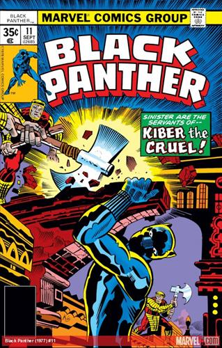 Marvel Comics Black Panther (1977 - 1979) Black Panther (1977) #11 Icon Thumb