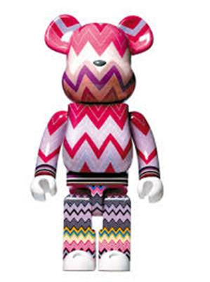Be@rbrick Love is Big, Love is Be@rbrick Missoni 1000% Icon Thumb