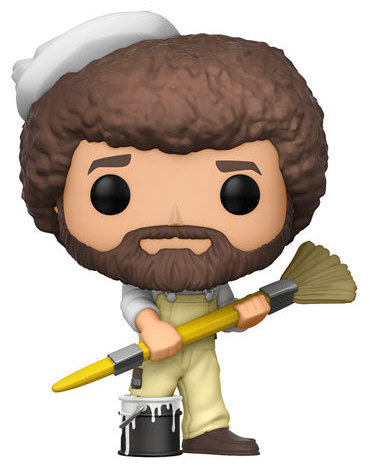 Funko Pop! Television Bob Ross (w/ Paintbrush)