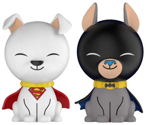 Dorbz DC Comics Krypto the Super Dog & Ace the Bat Hound