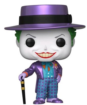 Funko Pop! Heroes The Joker Batman 1989 (Metallic)