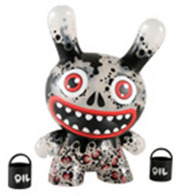 "Kid Robot 8"" Dunnys Oil Slick"