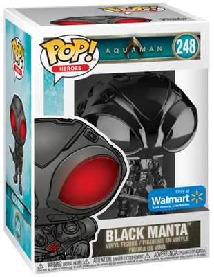 Funko Pop! Heroes Black Manta (Gloss) Stock