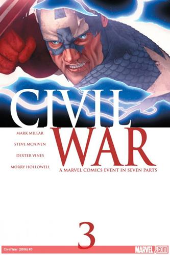 Marvel Comics Civil War (2006 - 2007) Civil War (2006) #3