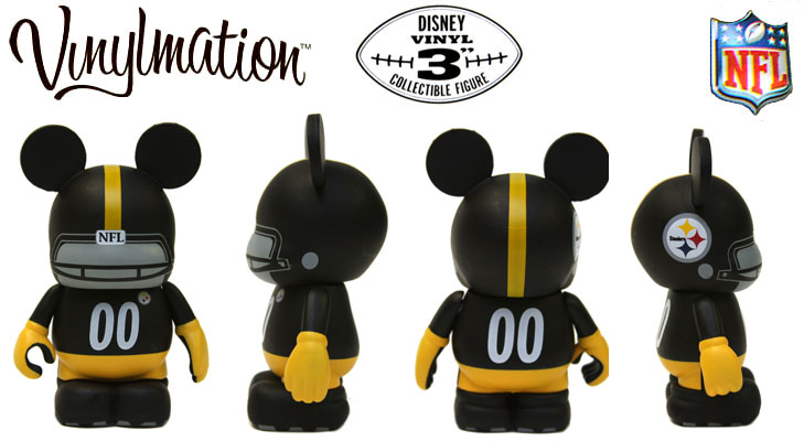 Vinylmation Open And Misc NFL Pittsburgh Steelers