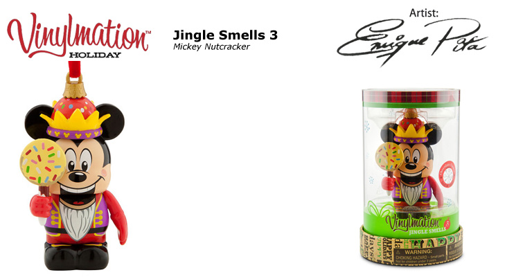 Vinylmation Open And Misc Jingle Smells 3 Mickey Nutcracker