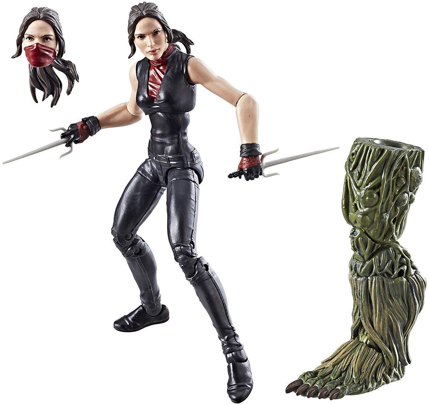 Marvel Legends Man-Thing Series Elektra Stock
