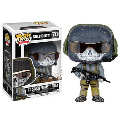 "Funko Pop! Games LT. Simon ""Ghost"" Riley (Muddy) Stock"