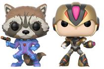 Funko Pop! Games Rocket Raccoon v. Mega Man (Version 2)