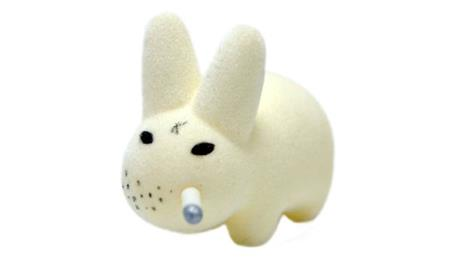 Kid Robot Labbit Packs Gold Pimp Disco Godfather: White
