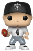 Funko Pop! Football Derek Carr (Road Jersey)