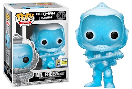 Funko Pop! Heroes Mr. Freeze Batman & Robin (Glitter)