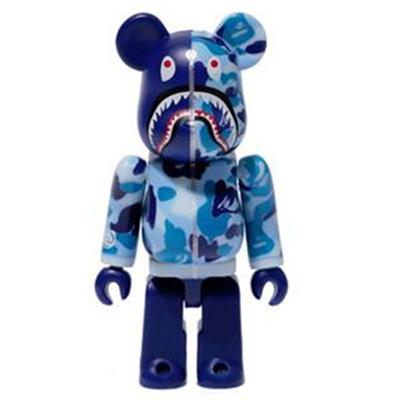 Be@rbrick Bape Camo Shark (Blue) 1000%