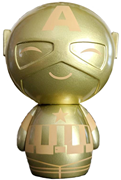 Dorbz Marvel Captain America (Gold)